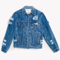 RWDZ x Levis Distressed Vintage Jacket