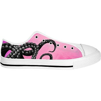 ROLT Pink Tentacle Low Top Shoes