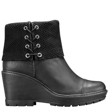 Timberland | Women's Kellis Wedge Fold-Down Boots