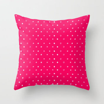 Bling Throw Pillow by Anchobee