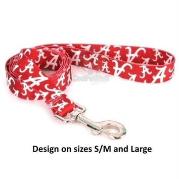 DCCKGW6 Alabama Crimson Tide Nylon Leash