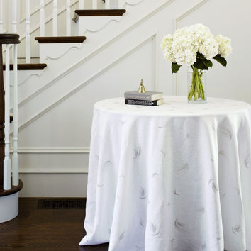 Grania Tablecloths design by Huddleson Linens