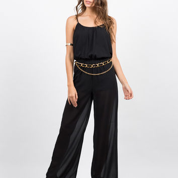 Gold Chained Jumpsuit