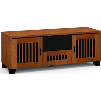 Sonoma 65 Inch TV Stand Cabinet Center Speaker Opening American Cherry