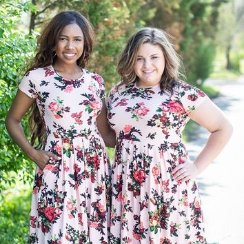 Derby Rose Floral Dress