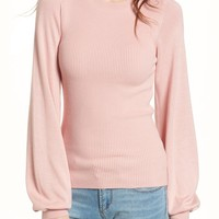 BP. Corset Knit Sweater | Nordstrom