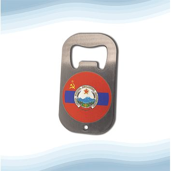 Armenian Soviet Socialist Republic with Coat of Arms Bottle Opener