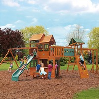 Cedar Summit Cedar Hill Resort Wooden Swing Set