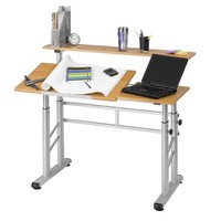Safco Adjustable Split-Level Drafting Table | www.hayneedle.com