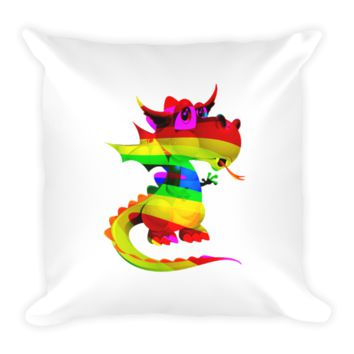 Draco Rainbow Pillow