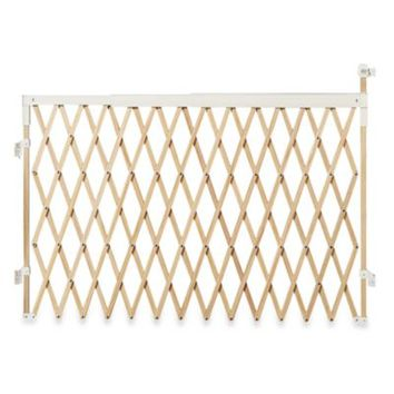 Munchkin® Extra Wide Expanding Wood Gate