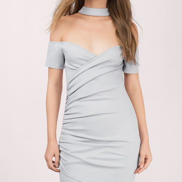 Daina Choker Bodycon Dress