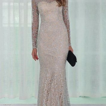 Esmay Sequin Luxe Gown