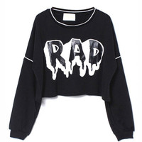 Rad Cropped Sweatshirt