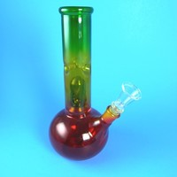 Custom Glass Chillum Water Pipes Ash Catcher and Steam Rollers | Pipesguru