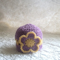Infant Easter hat Size Newborn to 12 months by crochetedcuddles