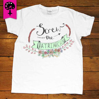 Screw The Patriarchy -- Women's Tanktop