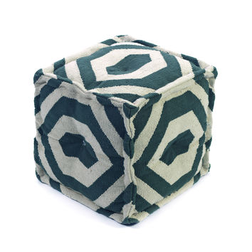 Navy Yard Pouf