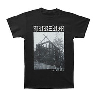 Burzum Men's  Aske T-shirt Black
