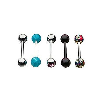 Multi-Pack Barbells 5 Pack - 14 Gauge - Spencer's