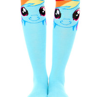 MY LITTLE PONY RAINBOW DASH KNEE HIGH