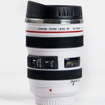 Unique Camera Lens Coffee Mug Cool Christmas Gift
