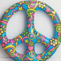 BigMouth Peace Sign Pool Float , Multi