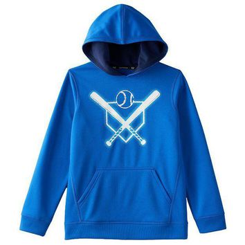 ICIKX8J Tek Gear Graphic Performance Fleece Hoodie - Boys 8-20 Size