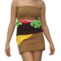 Hamburger Dress ? Funny, Bizarre, Amazing Pictures & Videos