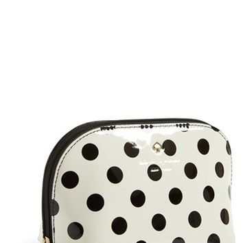 kate spade new york 'carlisle street - annabella small' cosmetics case
