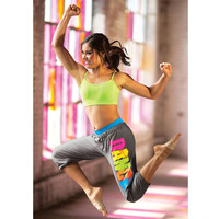 Rainbow Graffiti Dance Sweatpant; Urban Groove