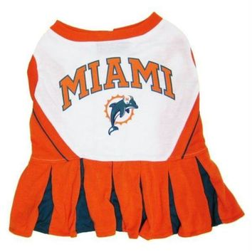 DCCKSX5 Miami Dolphins Cheerleader Dog Dress