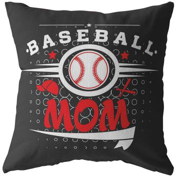 Baseball Pillows Baseball Mom