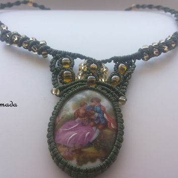 Romantic Necklace / FREE SHIPPING