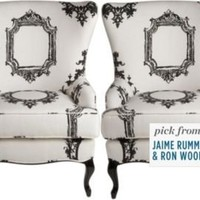 One Kings Lane - Get the Look - Looking Glass Chairs, Pair