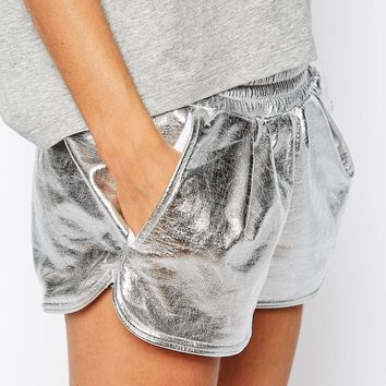 Adidas Originals Metallic Shorts