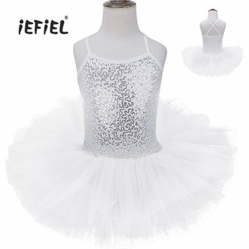 Flower Girls Dress Ballet Dress Gymnastics Leotard Cute Children Clothes Girls Ballerina Tutu Dress Costume Girl Dancewear Dress