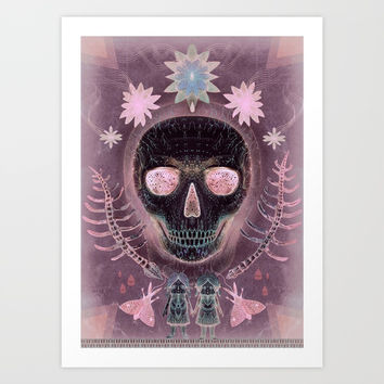 Amethyst Dream Art Print by Vlad Stankovic