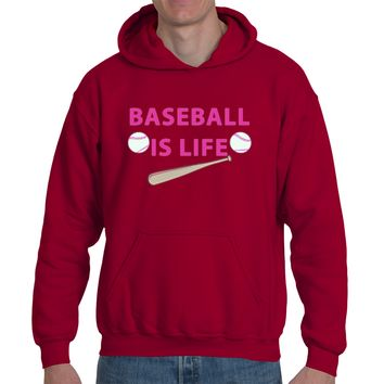 Baseball Life| Heavy Blend™ Fleece Hoodie | Underground Statements