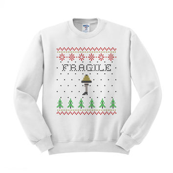 Fragile Leg Lamp Sweater Crewneck Sweatshirt
