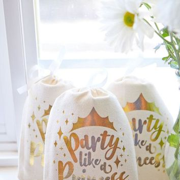 Party Like a Princess Goody Bags