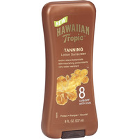 Walmart: Hawaiian Tropic UVB/SPF 8 Tanning Lotion, 8 oz