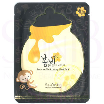 Papa recipe Bombee Black Honey Mask Pack