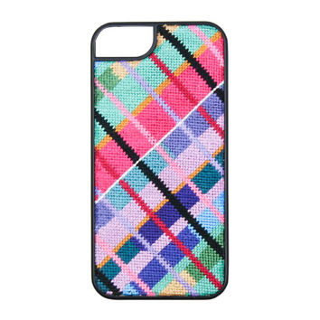 Limited Edition Madras Needlepoint iPhone 6 Case by Smathers & Branson