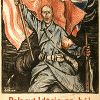 """WWI Poster Poles! Under The Polish Flag, On To The Fight """"For Our Liberty And Yo"""