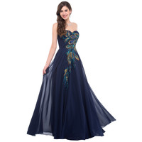 Grace Karin Strapless Formal Long Evening Gown