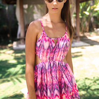 Bossy The Label - Kicker Dress - Zigzag