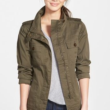 Women's Kersh Four-Pocket Military Jacket