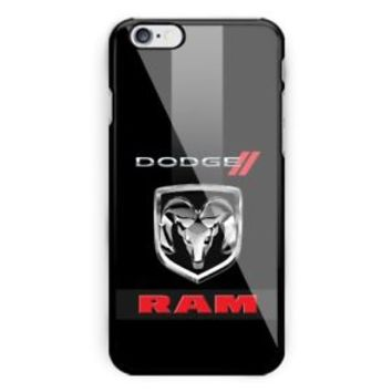 Hot Famous Top Dodge Silver Logo Ram Fit Hard Case For iPhone 7 8 Plus X Cover +