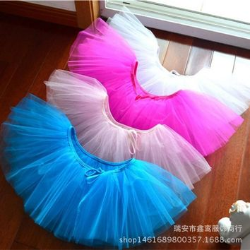 Children Girls Ballet Dance Costumes Ballet Tutu Skirt Leotard Kids Ballet Clothes Children Baby Chiffon Dancewear